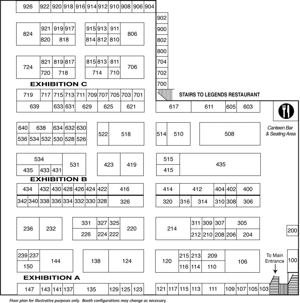 FCWC Show Guide Floor Plan-2020